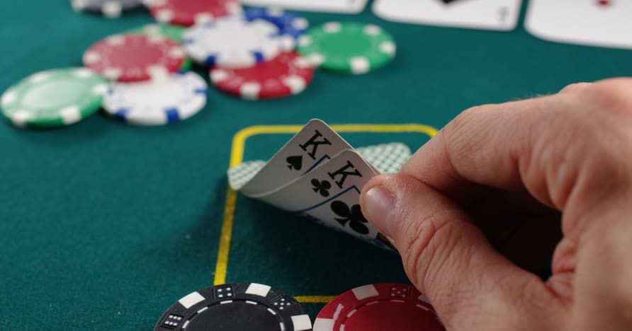 Pokerio vadovas, kaip padaryti laimėtą ranką