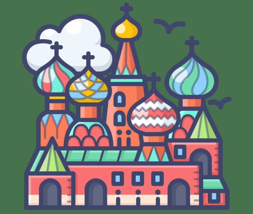 Geriausi 63 Kazino su gyvais dalytojais Krievija 2021-iais